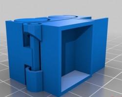 小小翻斗车stl文件下载(3D打印模型)