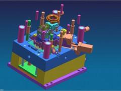 汽车空气管模具设计