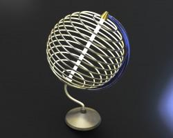 创意摆件 (SolidWorks设计,SLDDRW格式)