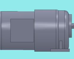 CPG卧式三相200W (SolidWorks设计,iges(igs)格式)