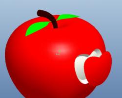 创意苹果 (ProE设计,Prt格式)