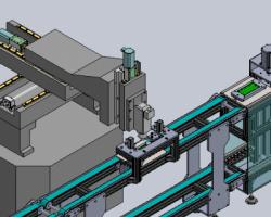 手机外壳CNC加工线 (SolidWorks设计,Sldprt/Sldasm格式)