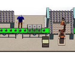 电热壶检测生产线方案 (SolidWorks设计,step(stp)格式)