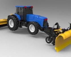 拖拉机处雪车 (Rhino犀牛设计,3DS格式)