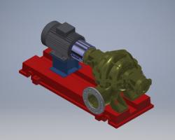 水泵模型(Inventor设计,ipt/iam格式)