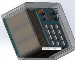 超级电容SolidWorks(SolidWorks设计,step/Sldprt/Sldasm格式)