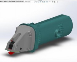 电动剪刀模型(SolidWorks设计,step/Sldprt/Sldasm格式)