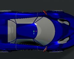跑车造型(Creo设计,Prt格式)