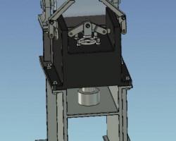 钢轨装夹夹具(SolidWorks设计,Sldprt/Sldasm格式)