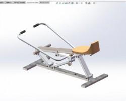 中华健身椅(SolidWorks设计,Sldprt/Sldasm格式)