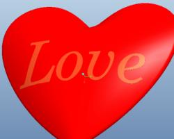 爱心(ProE设计,Prt格式)