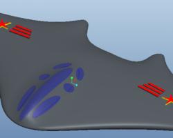 新概念隐形飞机(ProE设计,Prt格式)