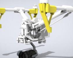大疆航拍无人机(SolidWorks/Creo设计,step/iges/Prt/x_t格式)