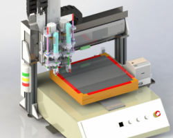 自动锁螺丝机3D+BOM表+CAD(SolidWorks设计,step/Sldprt/Sldasm格式)