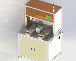 吸取式自动锁螺丝机(SolidWorks设计,step格式)