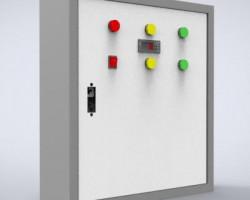 配电箱模型设计(SolidWorks设计,Sldprt/Sldasm格式)