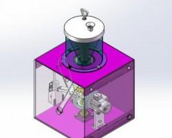捣蒜器(SolidWorks设计,Sldprt/Sldasm格式)