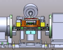 油泵前壳体OP10夹具图(SolidWorks设计,step/Sldprt/Sldasm/SLDDRW格式)