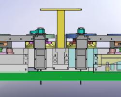 齿轮夹具图(SolidWorks设计,step/Sldprt/Sldasm/SLDDRW格式)