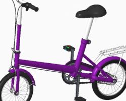 小型自行车(ProE/Creo设计,Asm/Prt格式)