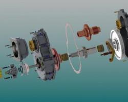 齿轮箱(SolidWorks/ProE/UG设计,step格式)