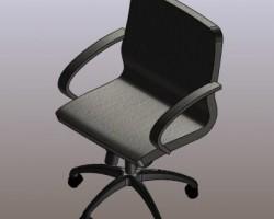 办公椅(SolidWorks设计,Sldprt/Sldasm格式)