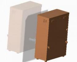 商用壁挂开水器(ProE设计,Prt格式)