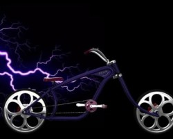 zeus拉风自行车(ProE/Creo.Elements设计,step格式)