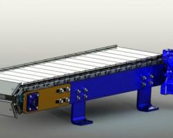 流水线传送带(SolidWorks/ProE/UG/Catia/SolidEdge设计,iges格式)