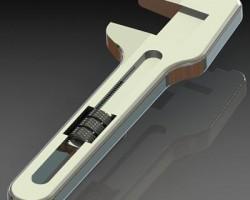 扳手(SolidWorks设计,step/iges/Sldprt/Sldasm/x_t格式)