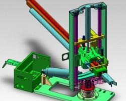 立式机械手、冲床机械手(SolidWorks设计,step/Sldprt/Sldasm格式)