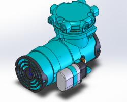 真空助力泵(SolidWorks设计,Sldprt/Sldasm格式)
