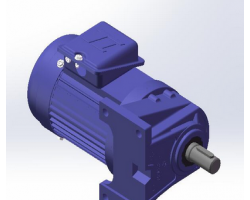 东力电机3D模型-0.2KW(SolidWorks设计,step/Sldprt/Sldasm格式)