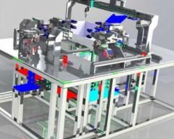 自动点焊机设计(SolidWorks设计,提供easm格式)