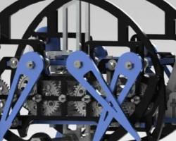 蜘蛛学步车(SolidWorks设计,Sldprt/Sldasm格式)