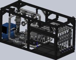 蒸汽站控制系统(SolidWorks设计,提供Sldprt格式)