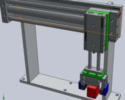 自动抓取机械手(SolidWorks设计,Sldprt/Sldasm格式)