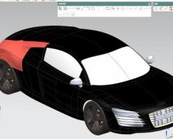 汽车模型(UG设计,提供Prt格式)