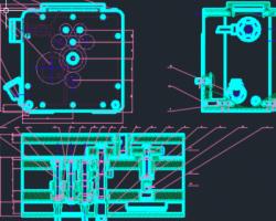 毕业设计-主轴箱+夹具 CAD图纸(AutoCAD设计,dwg格式)