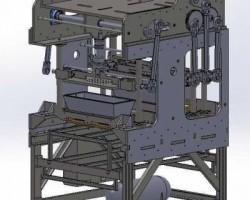 果冻灌装机(SolidWorks设计,提供Sldprt格式)