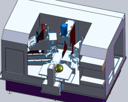 超精研磨机(SolidWorks设计,提供Sldprt格式)