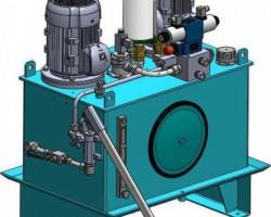 100L液压动力单元(UG设计,提供Prt格式)