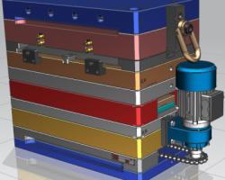 变速箱反应器模具(UG设计,提供Prt格式)