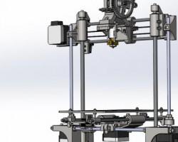 portabee 3D打印机(SolidWorks/ProE设计,提供step格式)