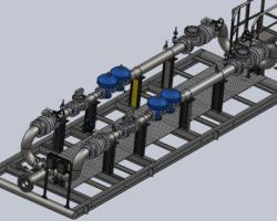 测流站(SolidWorks设计,提供Sldprt格式)