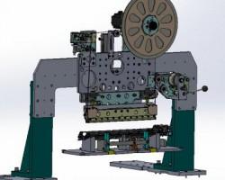 自动化缠绕机构(SolidWorks设计,提供Sldprt/Sldasm格式)