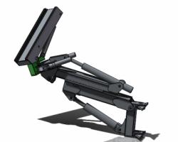 一款能够实现多个方向运动的手臂(SolidWorks设计,提供Sldprt/Sldasm格式)