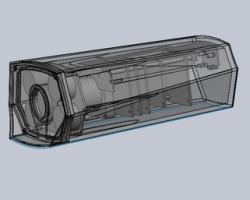 红外枪机(SolidWorks设计,提供step格式)