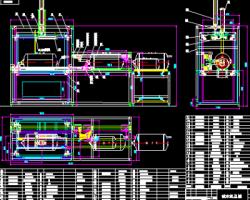 热水器检漏设备 CAD图纸(AutoCAD.Mechanical设计,提供dwg格式)