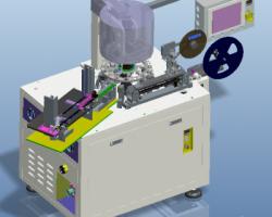 全自动编带机、电感编带测试NG分选多功能一体机(ProE/Creo.Elements设计,提供step/Asm/Prt格式)